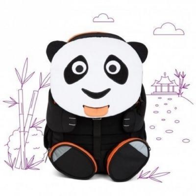 Affenzahn Paul Panda 兒童背包 8L 黑/白