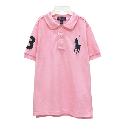 Ralph Lauren 大童數字3經典大馬短袖POLO衫
