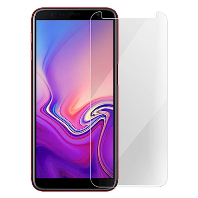 Metal-Slim Samsung Galaxy J6+ 9H鋼化玻璃保護貼