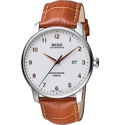 MIDO美度BARONCELLI JUBILEE天文台機械錶M0376081626200
