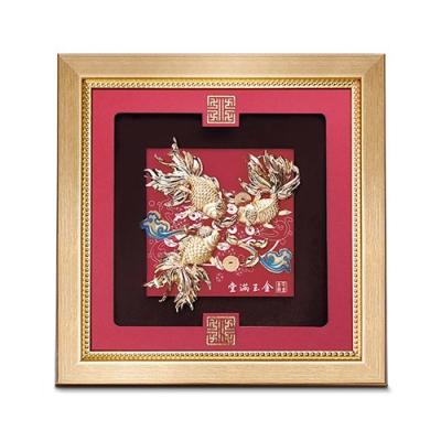 My Gifts 立體金箔畫-金玉滿堂(祥和系列23.8x23.8cm)