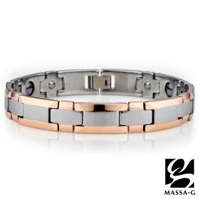 DECO X MASSA-G【玫瑰絕色】鎢鋼手環