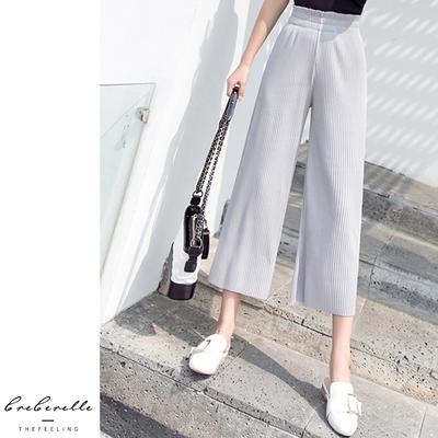 UGIZ(限時)-韓系寬鬆顯瘦收腰闊腿褲-3色(S-2XL)