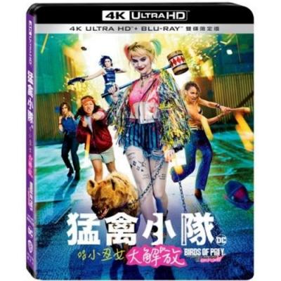 猛禽小隊:小丑女大解放 4K  UHD + BD 雙碟限定版