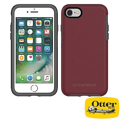 OtterBox iPhone7 / iPhone8炫彩幾何系列保護殼-醇紅