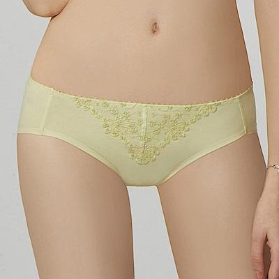 瑪登瑪朵 無限包覆 低腰三角無痕內褲(芥黃綠)