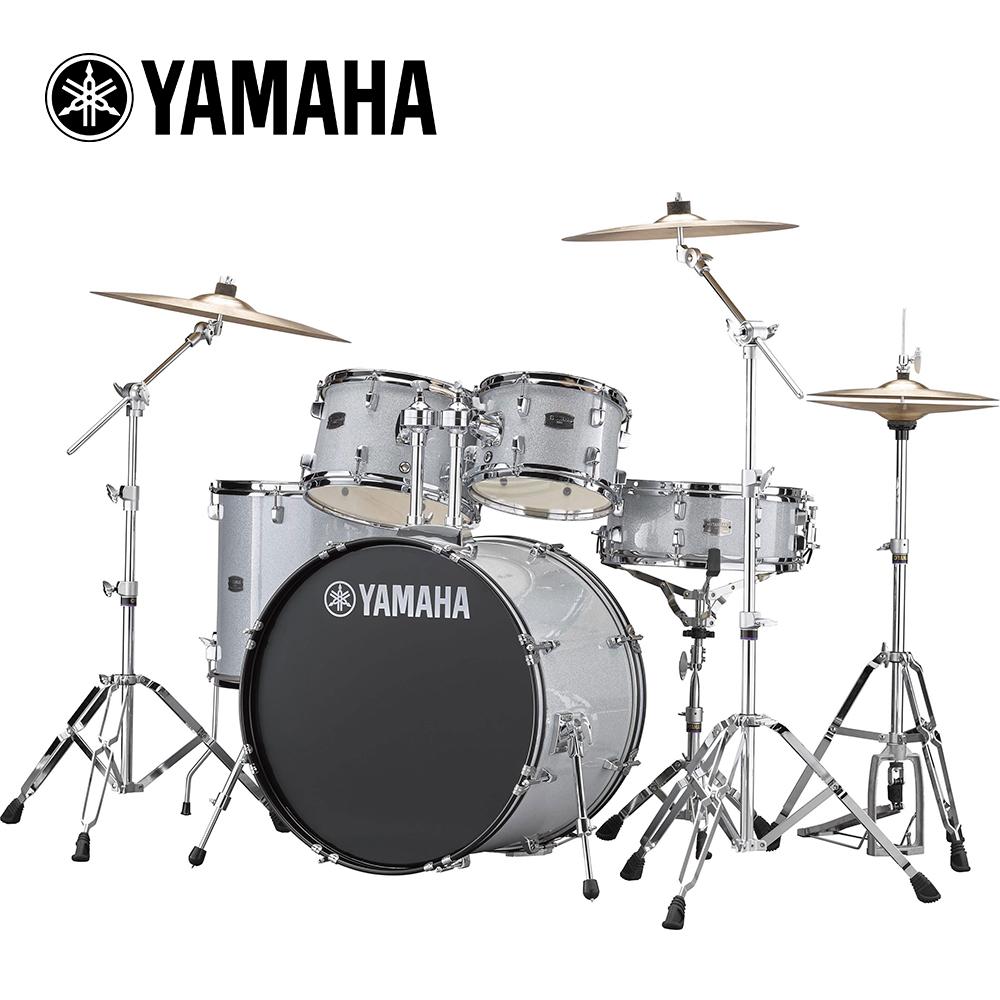 [無卡分期-12期] YAMAHA RYDEEN 傳統爵士鼓組 絢麗銀色款