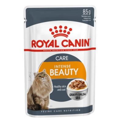 Royal Canin法國皇家 HS33W亮毛成貓專用濕糧 85g 24包組