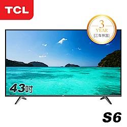 TCL 43吋S6系列 極薄液晶顯示器