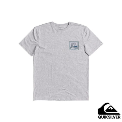 【QUIKSILVER】HIGHWAY VAGABOND SS 針織T恤 灰色