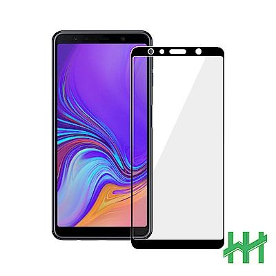 鋼化玻璃保護貼系列 Samsung Galaxy A7 (2018)(6吋)(全滿版黑)