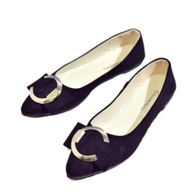 韓國KW美鞋館-(現貨)明星款樂活時尚平底鞋(共1色)