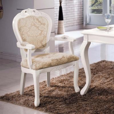 H&D 格瑞斯白色房間椅