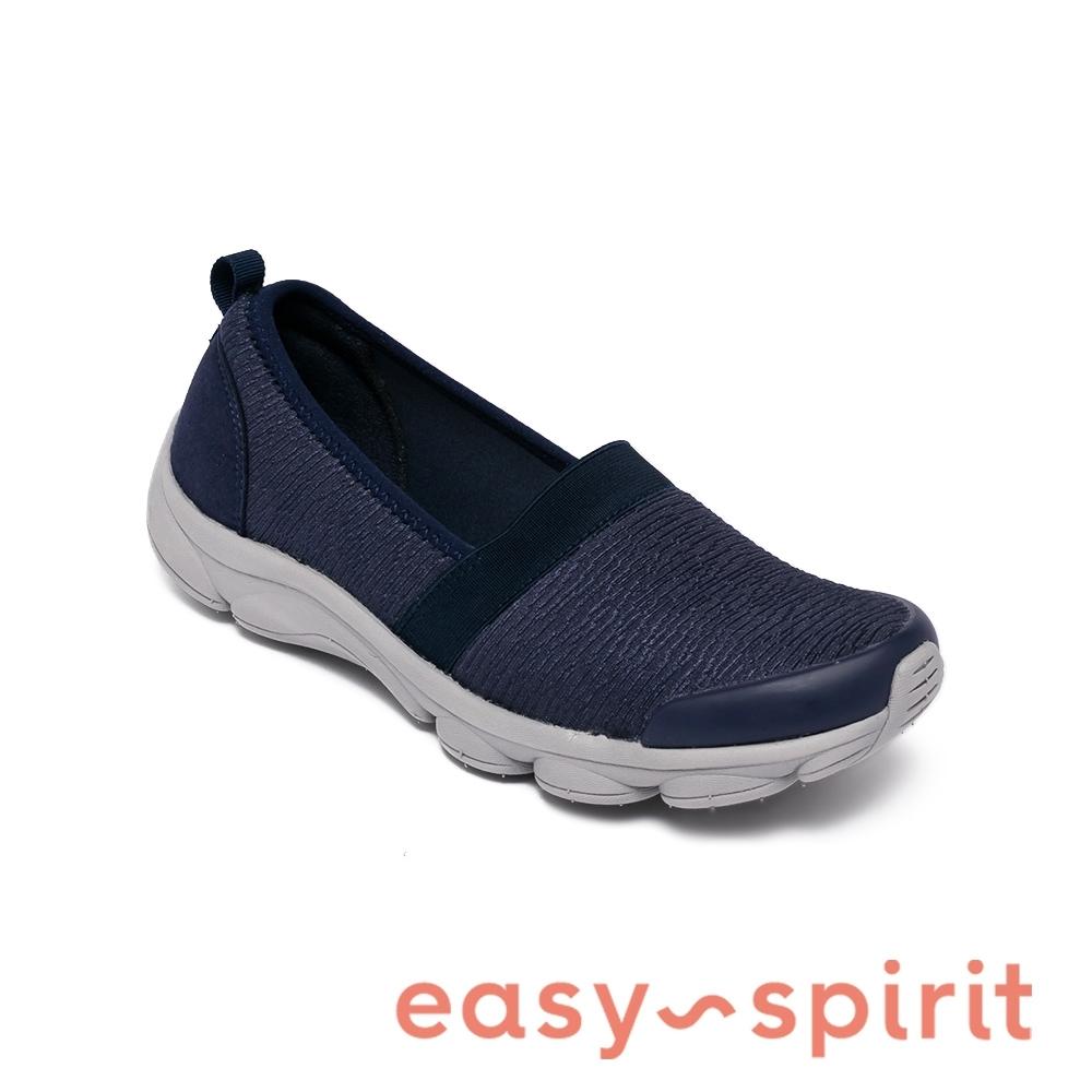 Easy Spirit-seREELFUNN2 輕量彈性織布百搭休閒鞋-深藍色