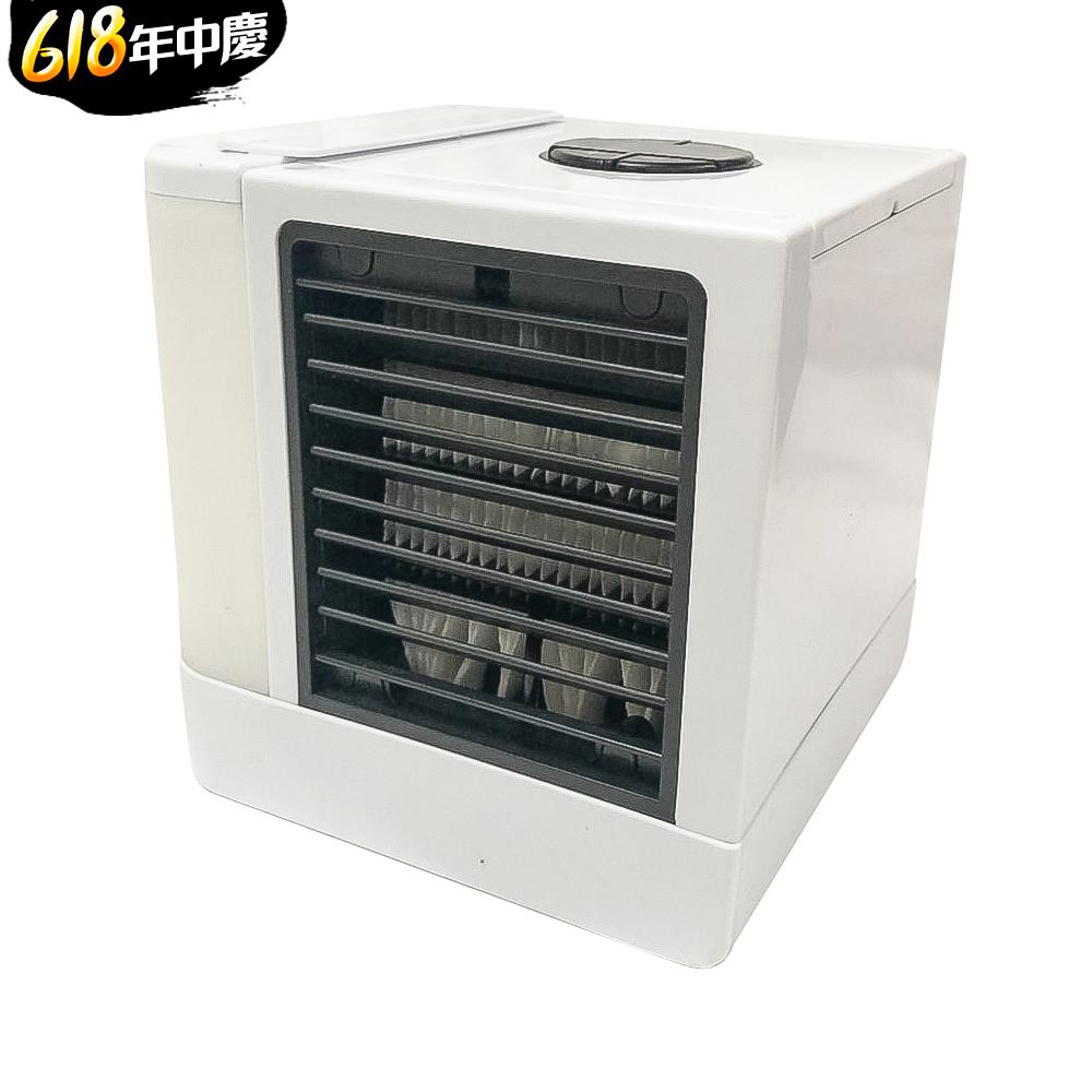 [時時樂] 家適帝 空氣過濾加濕 夜燈水冷扇