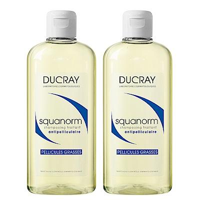 DUCRAY護蕾 K油清屑洗髮精(2入特惠組)