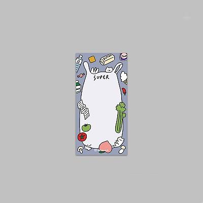 ByNACOO 貓咪日常便條紙-15購物清單表
