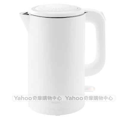 歌林316不鏽鋼雙層防燙1.7L快煮壺KPK-LN207