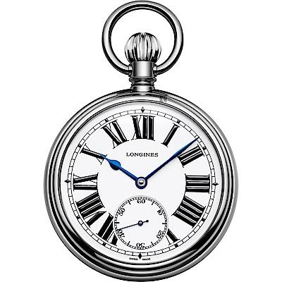 Longines 浪琴 鐵路紀念限量懷錶-49.5mm