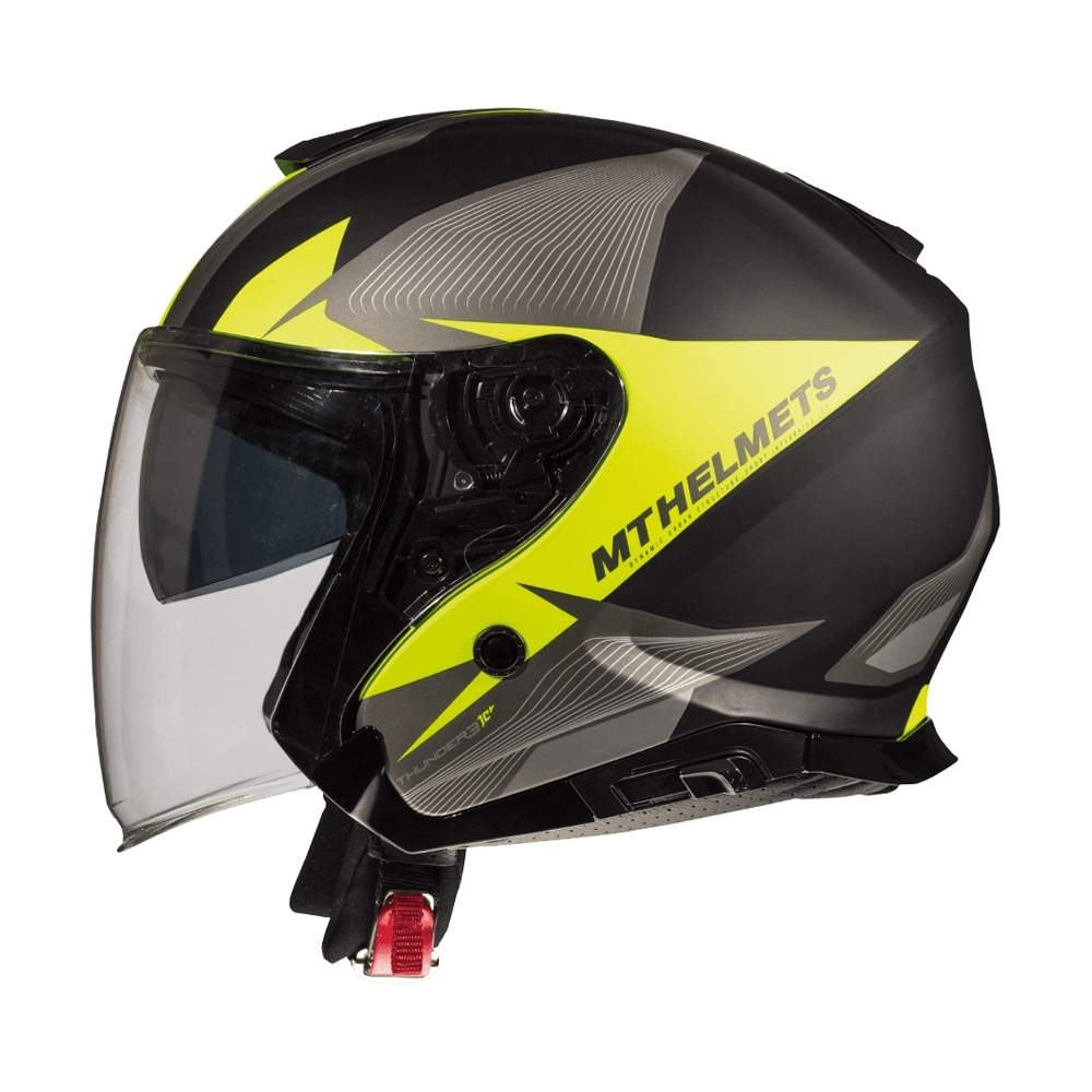MTHELMETS MT安全帽 THUNDER3 sv Jet WNG系列消光灰黃