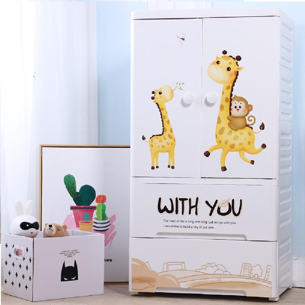誠宜居家美學 兒童層架式63面寬收納櫃-DIY組裝