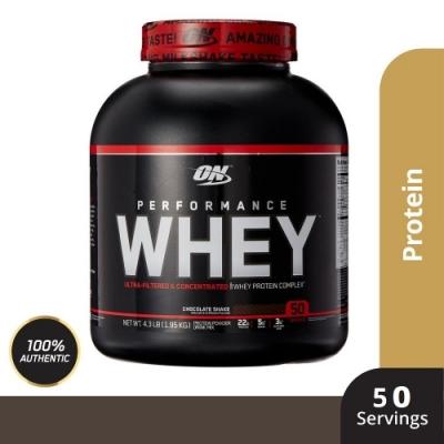 [美國 ON] Performance WHEY 高性能 乳清蛋白(4.3磅/罐)
