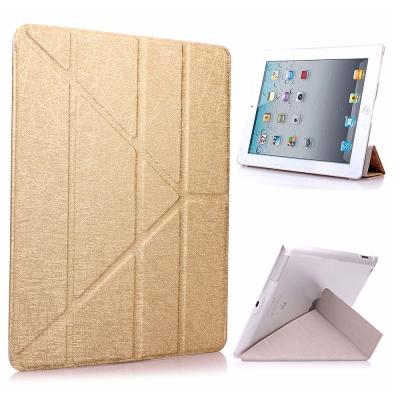 Apple iPad mini3/mini2/mini Y折式側翻皮套(附保貼)