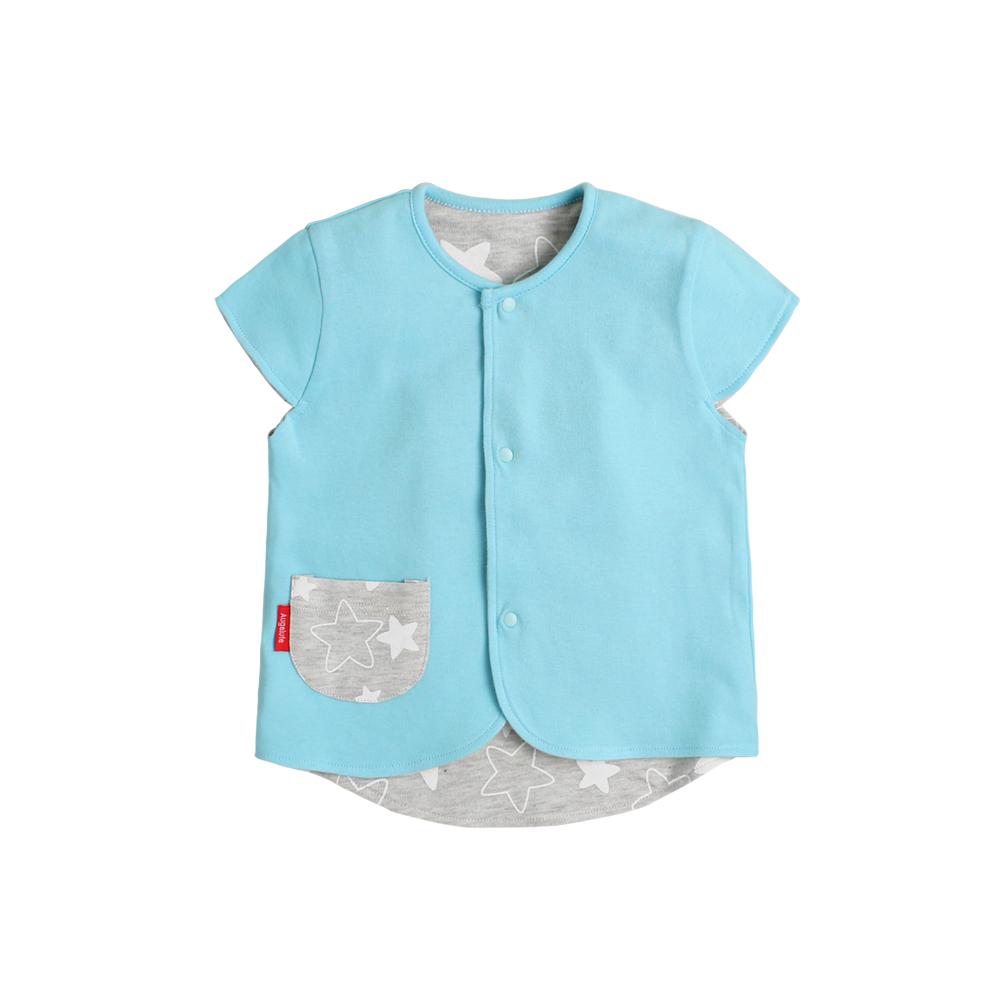 baby童衣 寶寶背心 雙面穿彩扣馬甲 82041