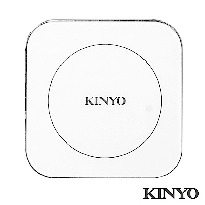 KINYO鋁合金無線充電板10W (WL110)