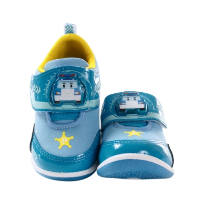 男童台灣製POLI正版波力款閃燈運動鞋 sa01216 魔法Baby