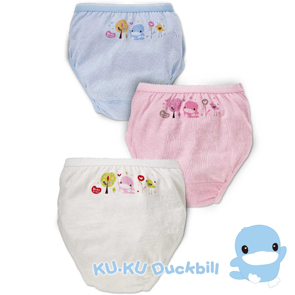 KU.KU酷咕鴨-亮亮森林女童三角內褲(2761)