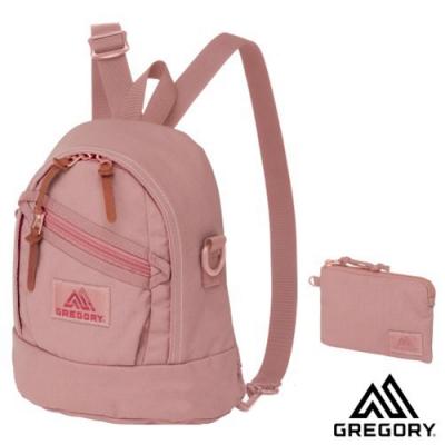 GREGORY 新款 LADYBIRD 2WAY MINI 4L 兩用多用途迷你後背包+手挽袋_玫瑰粉