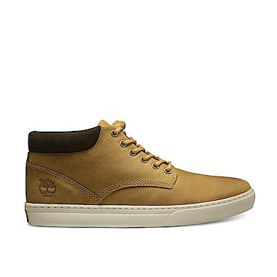 Timberland 男款小麥黃絨面休閒鞋 | A1JU1231