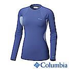 Columbia哥倫比亞 女款-Omni-HEAT保暖快排長袖上衣-藍紫色