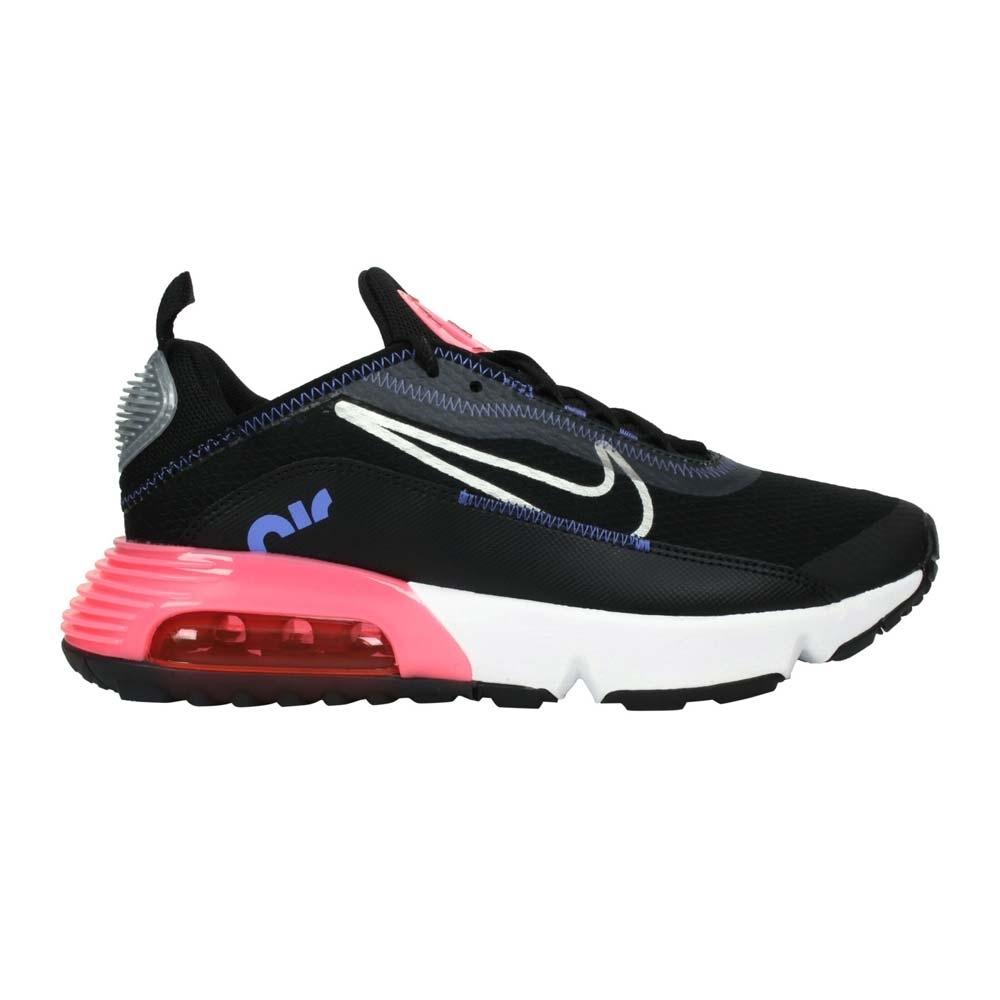 NIKE AIR MAX 2090-GS 女大童運動休閒鞋-慢跑 氣墊 CJ4066011 黑紫粉紅