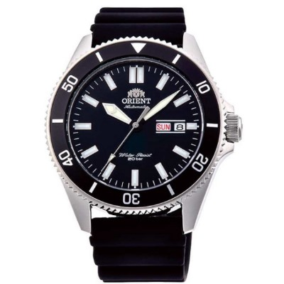 ORIENT 東方錶 深海潛龍 藍寶石鏡面 機械錶(RA-AA0010B)黑水鬼/44mm