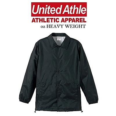 日本United Athle尼龍教練外套 立領風衣 防撥水