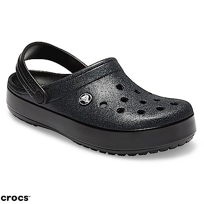 Crocs 卡駱馳 (中性鞋) 卡駱班閃亮克駱格 205419-001