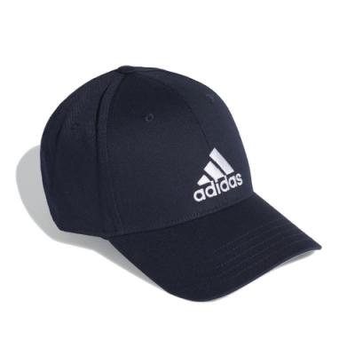 adidas 帽子 Baseball Cap 運動休閒 男女款 愛迪達 棒球帽 遮陽 穿搭 帽圍可調 藍 白 FQ5270