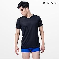 HANG TEN吸排短袖衫_黑(HT-B12005)