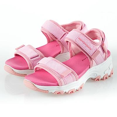SKECHERS 女童 涼拖鞋系列 D LITES - 996334LPNK