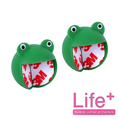 Life Plus 安全防護趣味造型桌角/防撞桌角_1組2入(青蛙)