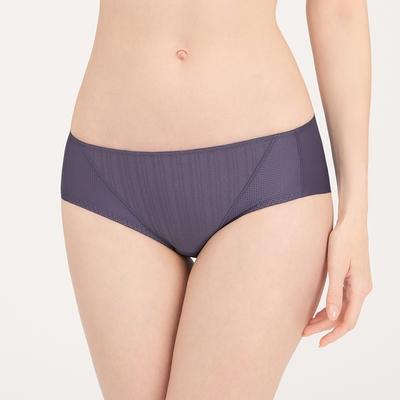 黛安芬-風格自在系列 涼感無痕中腰平口內褲 M-EEL 優雅紫