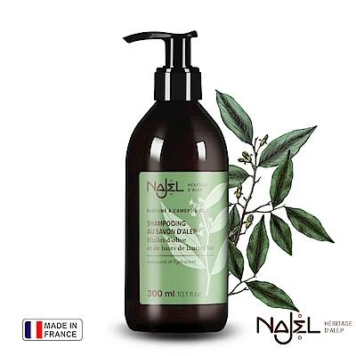 法國Najel木質沉香阿勒坡古皂洗髮露300ml