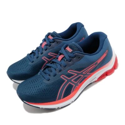 Asics 慢跑鞋 Gel Pulse 12 寬楦 女鞋 亞瑟士 避震 輕量 亞瑟膠 藍 紅 1012A727401