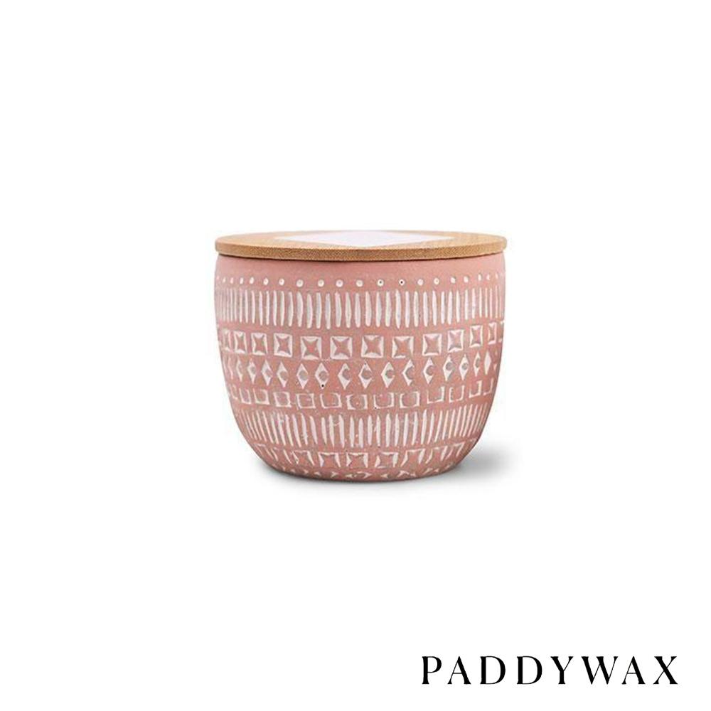PADDYWAX 美國香氛 Sonora系列 柚子胡椒 原木蓋復刻浮雕陶罐 283g