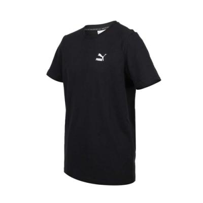 PUMA 男 流行系列短袖T恤 黑白