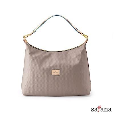 satana - Lady First 美力人生肩背包 - 玫瑰棕
