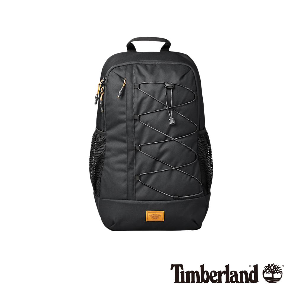 Timberland 中性黑色防水休閒後背包 A1CZM
