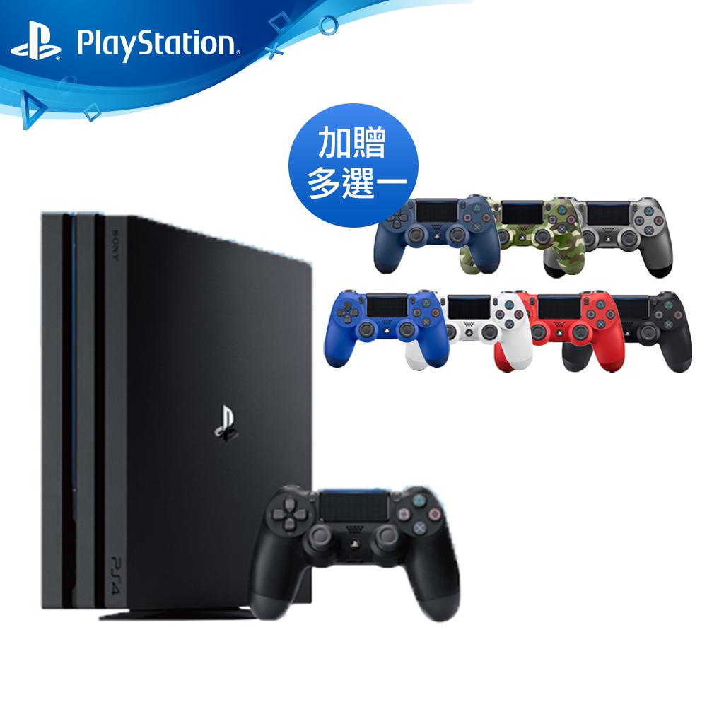 (限定組合) PS4 Pro 1TB主機 台灣公司貨 (黑色)